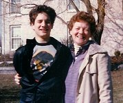 Tim Cusimano, and mother Margot Cusimano